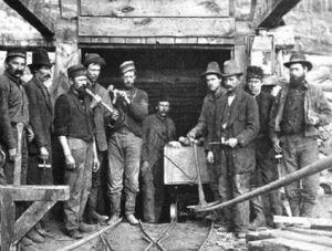 miners in leadville