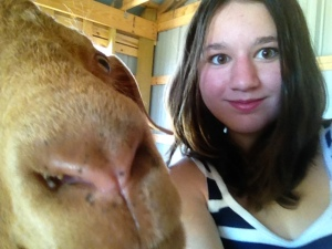 MK goat selfie