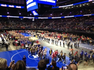 wrestling grand march